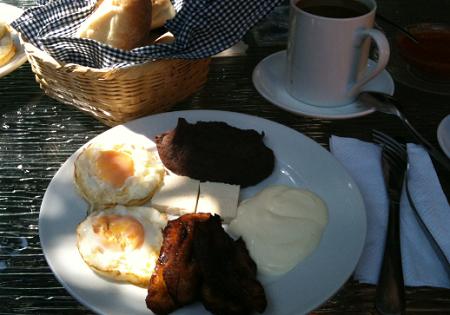 一般的な朝食