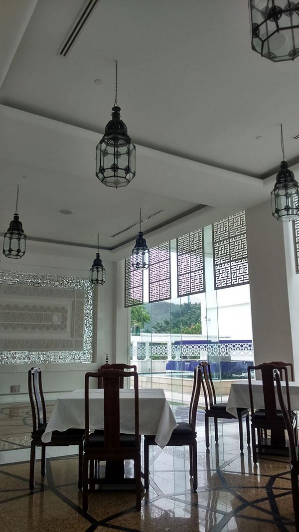 イスラム美術館内にあるレストラン
