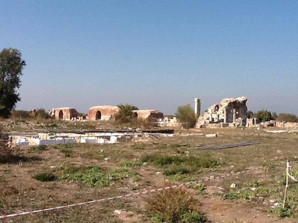 まだ発掘が続くエフェソス遺跡