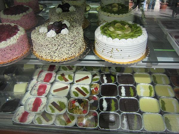 トルコのケーキ屋さん