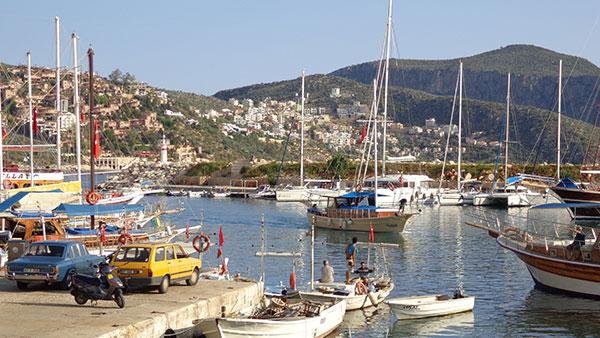地中海の街